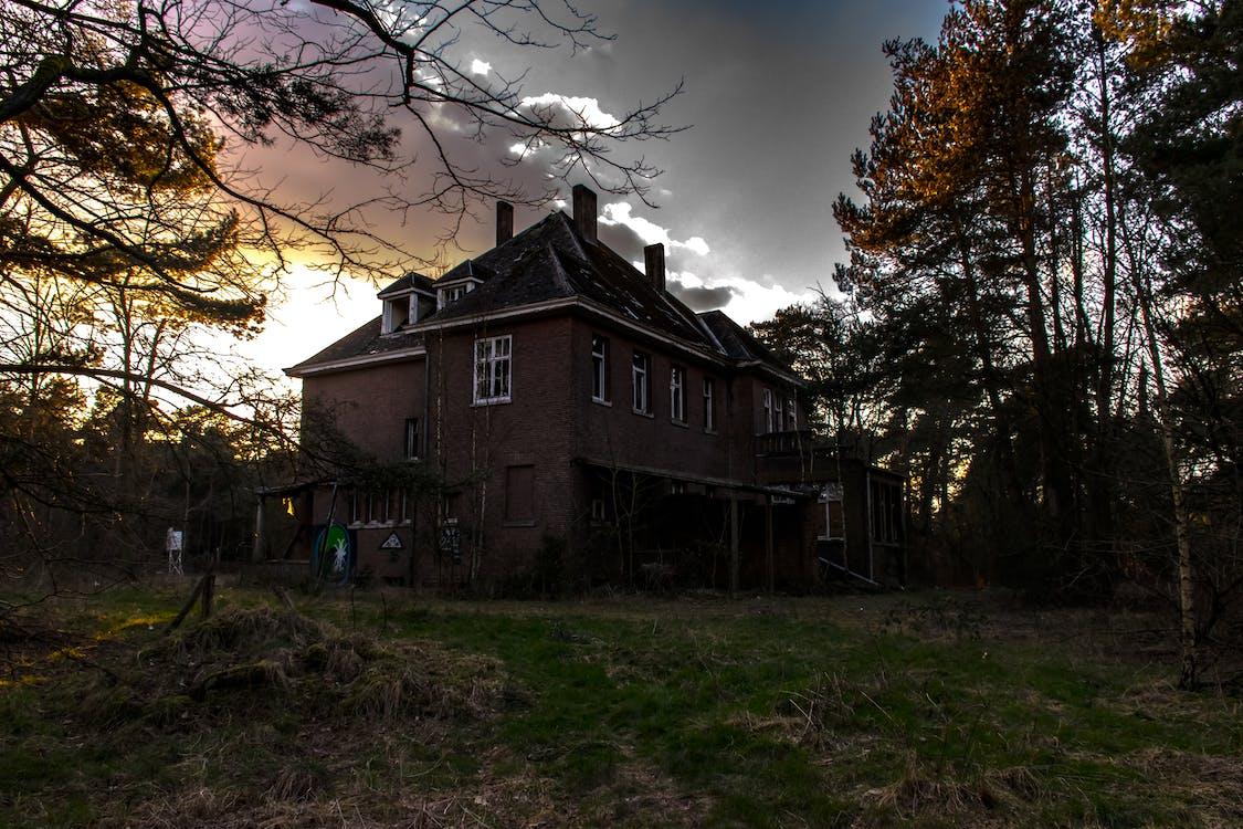 εγκαταλειμμένος, εγκαταλελειμμένο κτίριο, εξοχική κατοικία