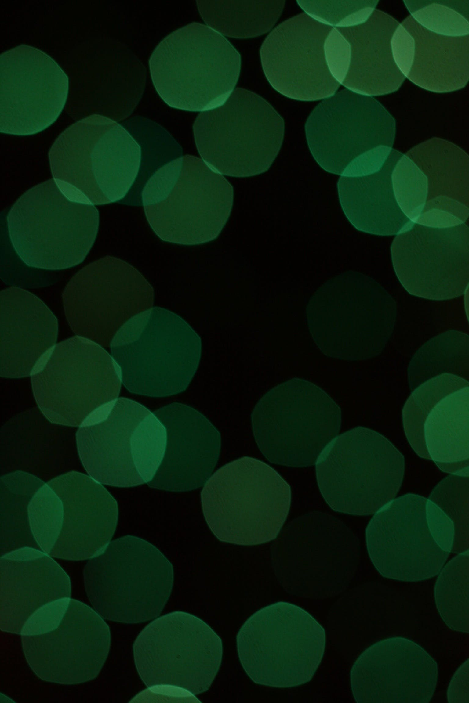Free stock photo of dots, green, lights