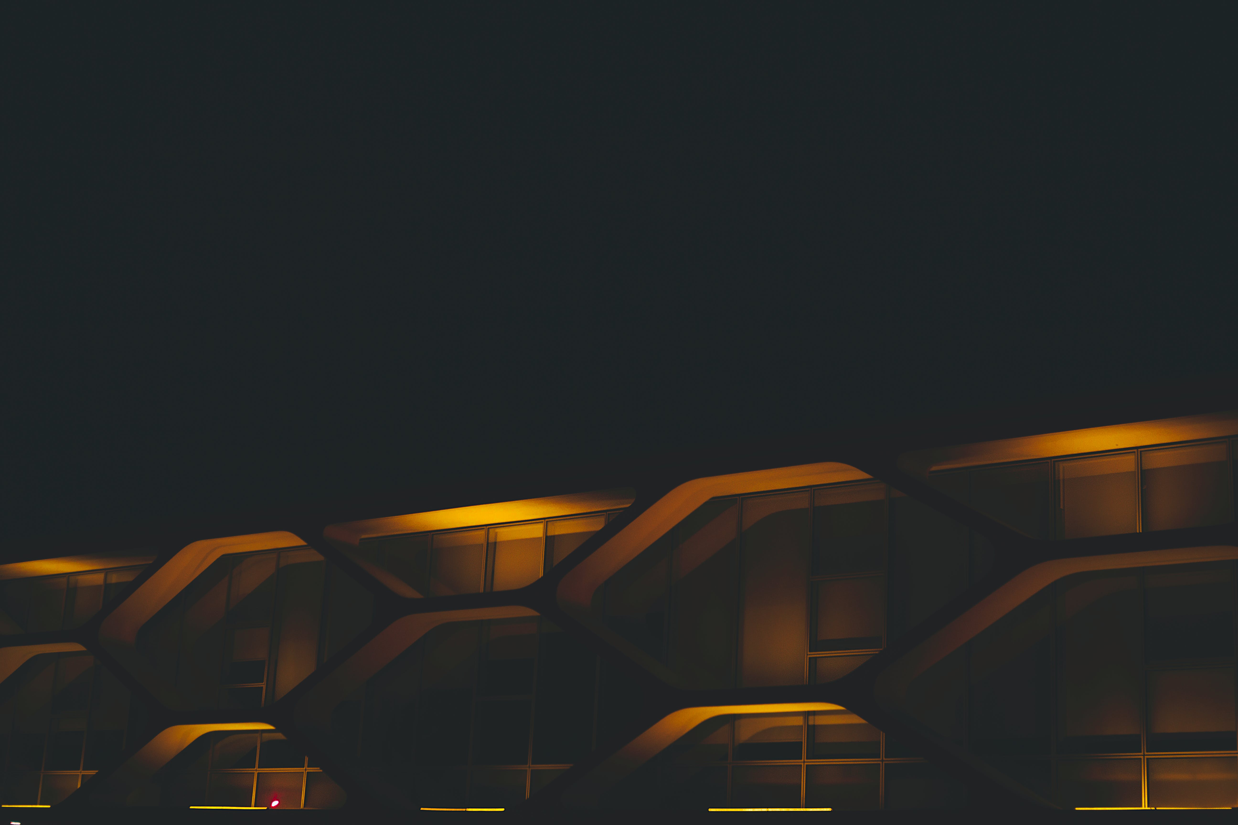Photo of Building during Night Time