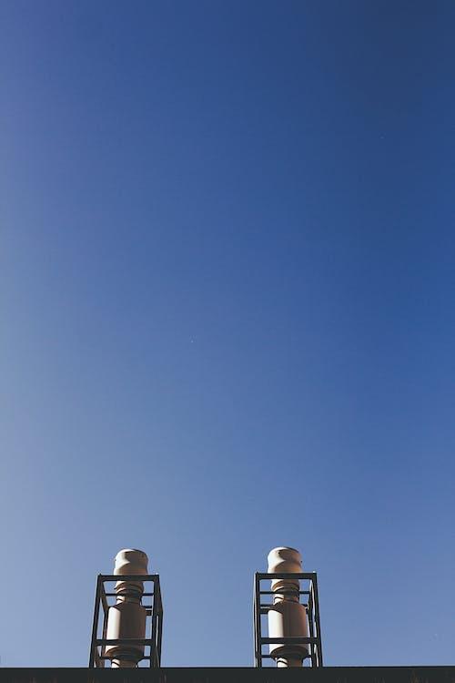 Foto d'estoc gratuïta de arquitectura, cel, cel blau, clareja
