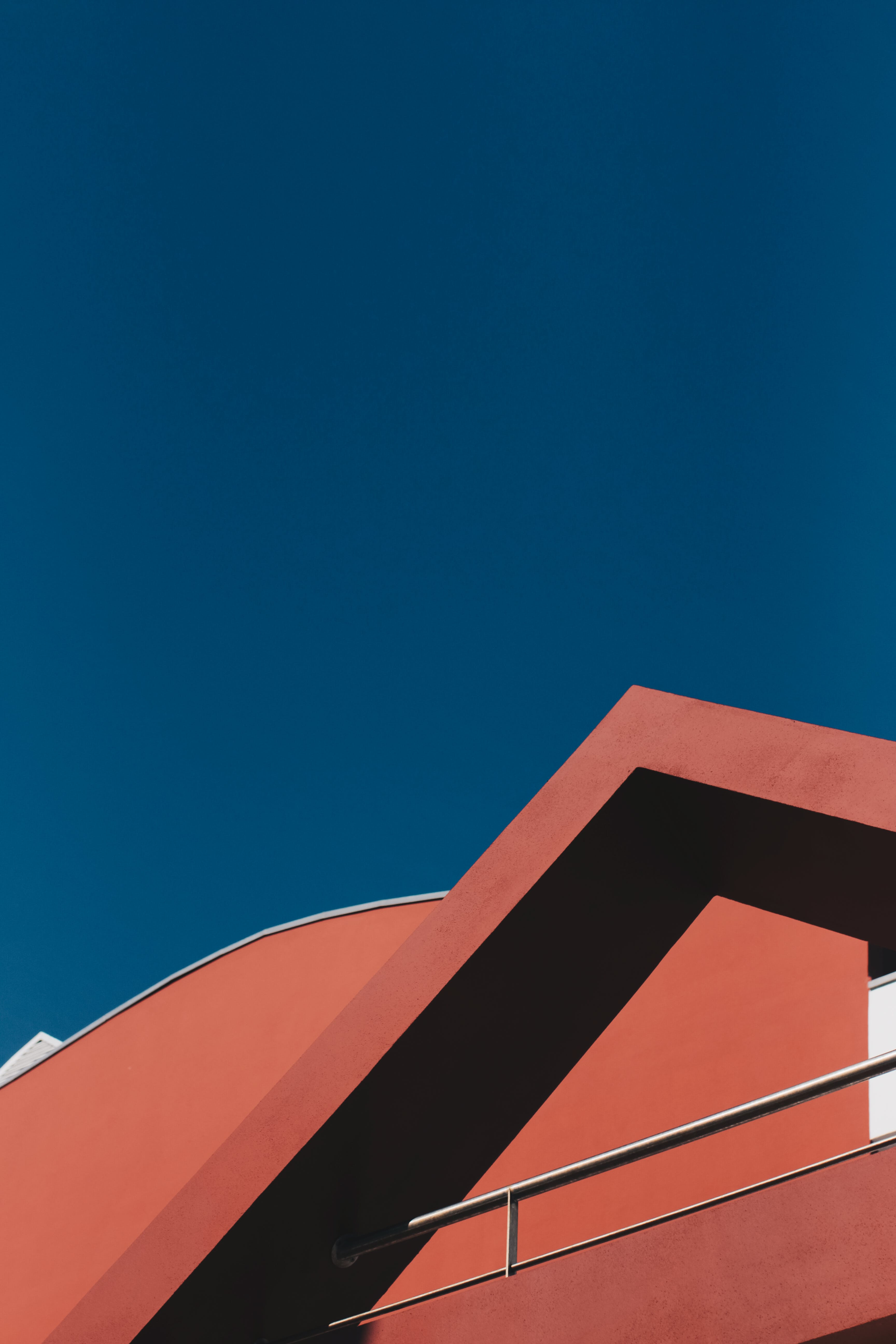 Free stock photo of sky, red, art, building