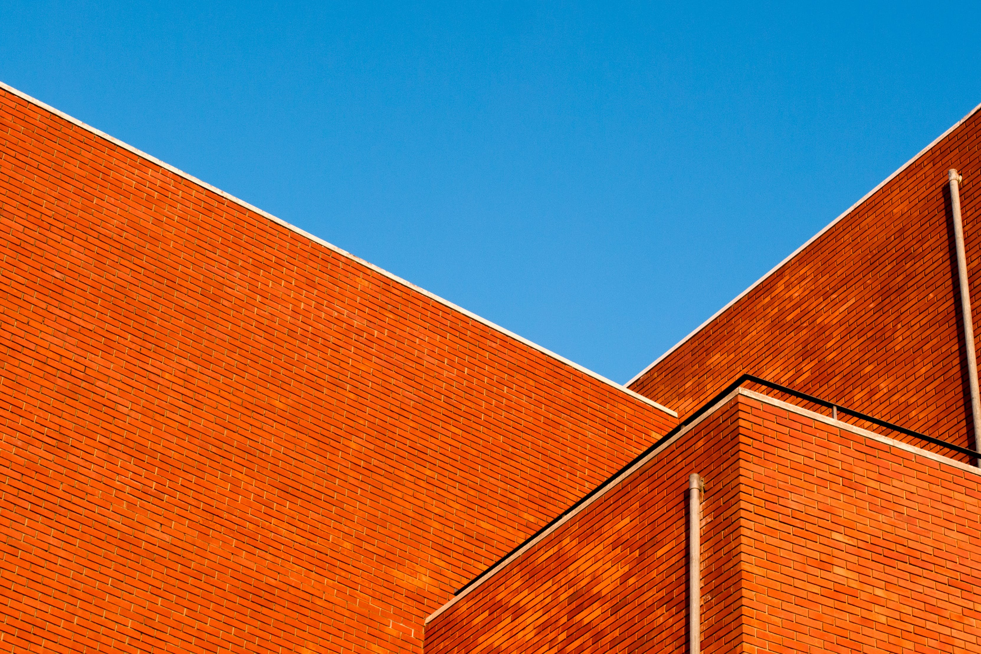 Royalty free images of sky, building, construction, bricks