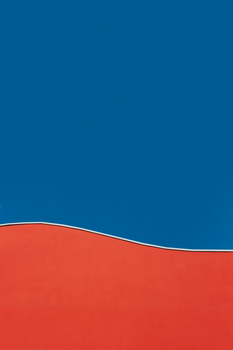 Blue and Red Illustration