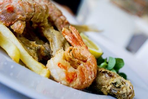 Foto profissional grátis de alimento, almoço, carne, cozinha