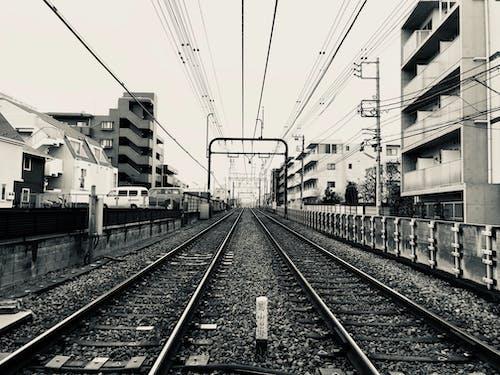 Ingyenes stockfotó acél, állomás, drót, épületek témában
