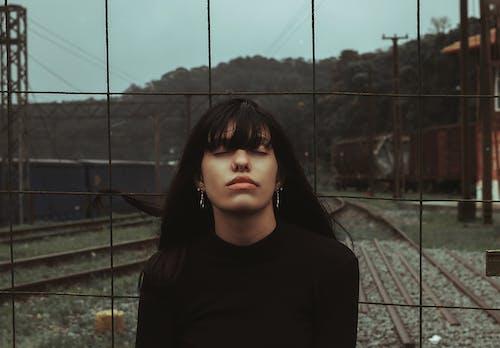 Free stock photo of adult, alone, bridge