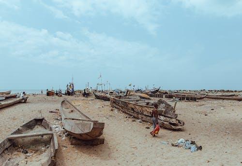 Gratis stockfoto met achtergelaten, Afrika, boot