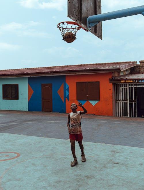 Gratis stockfoto met Afrika, bal, basketbal