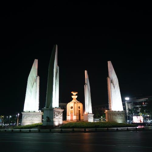 市容, 晚上, 曼谷, 民主 的 免費圖庫相片