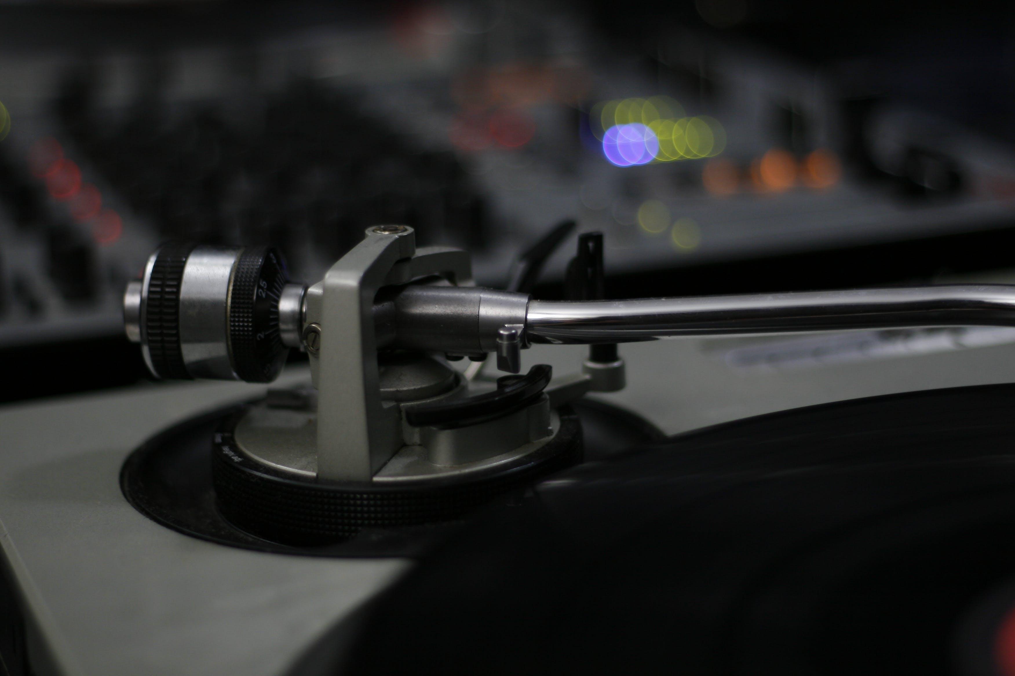 Free stock photo of deejay, dj, mixer, night