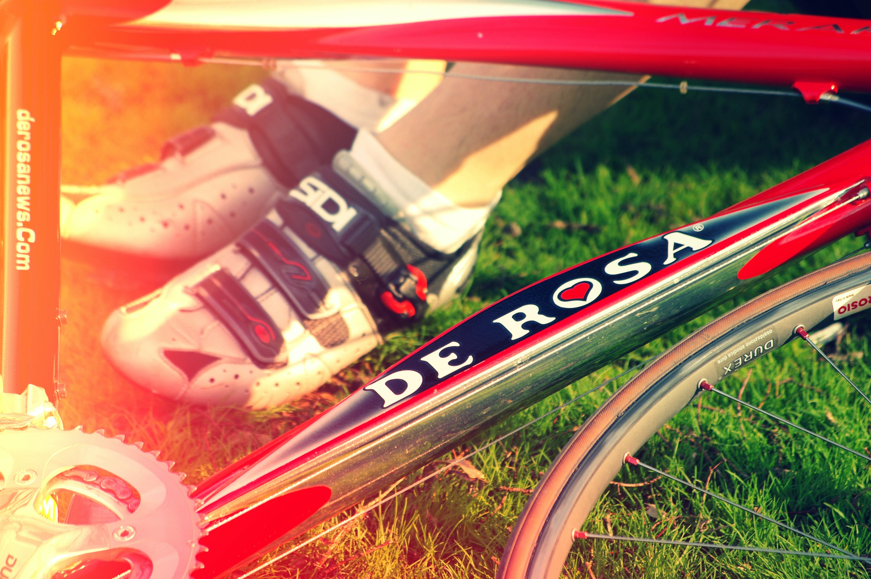 Free stock photo of bicycle, cycling, cyclist, derosa