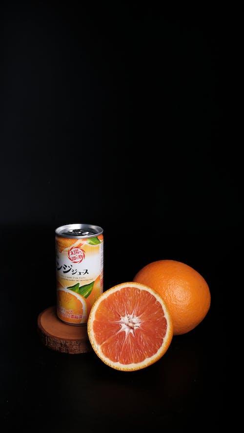 Orange and White Fanta Can