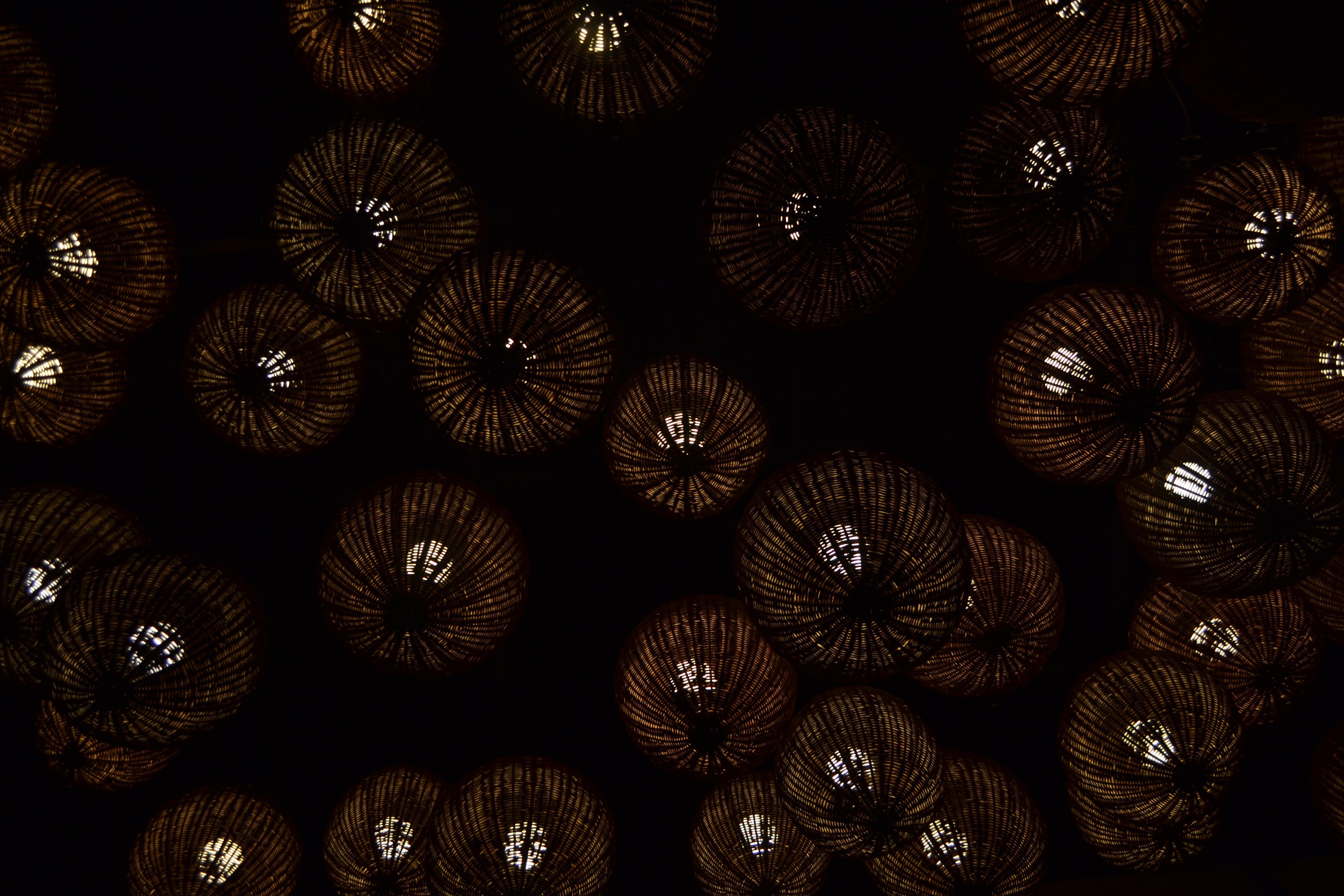 Brown Pendant Lamps