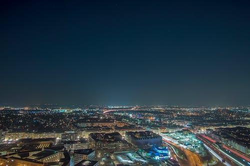 คลังภาพถ่ายฟรี ของ longexposure, กรุงเบอร์ลิน, กลางคืน, ท้องฟ้า