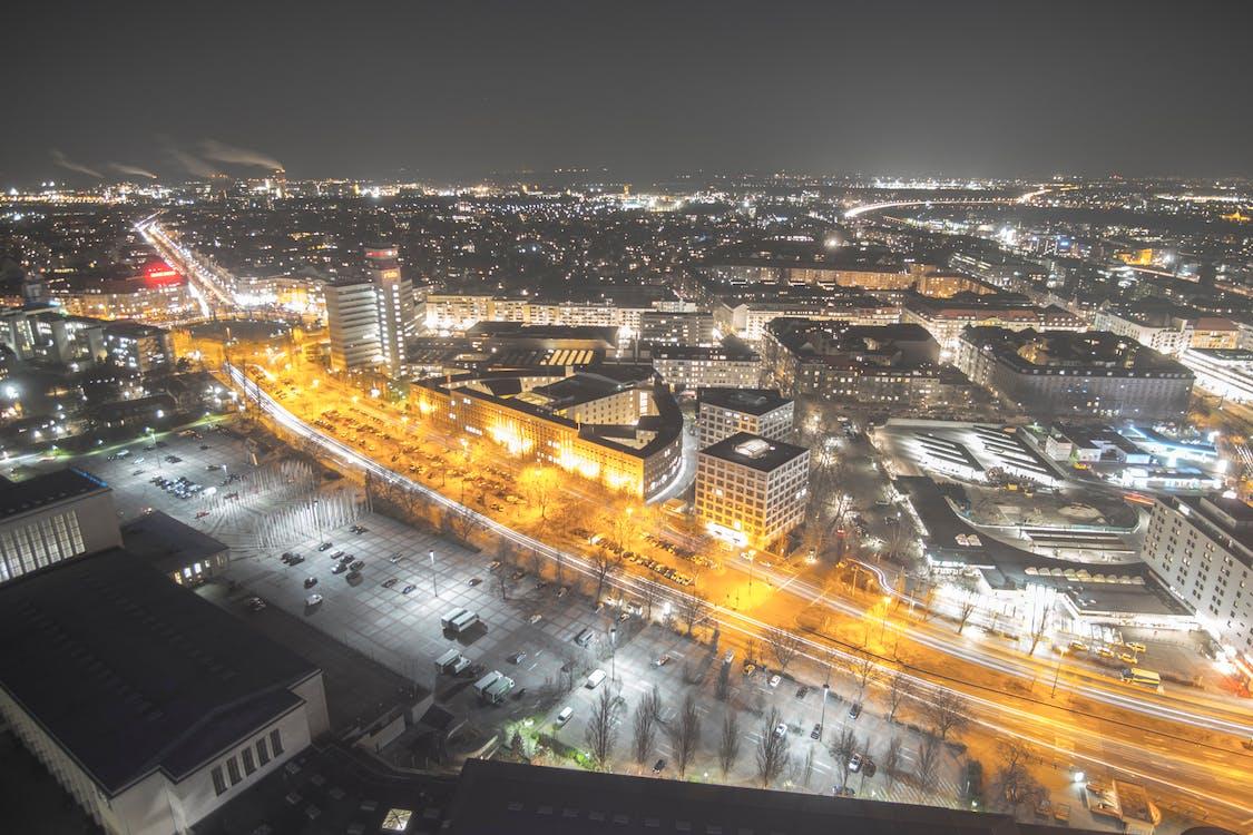 berlín, ciutat, exposició llarga