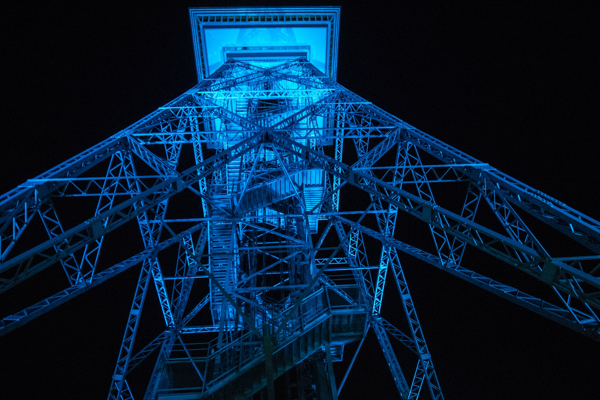 Free stock photo of architecture, berlin, blue, dark