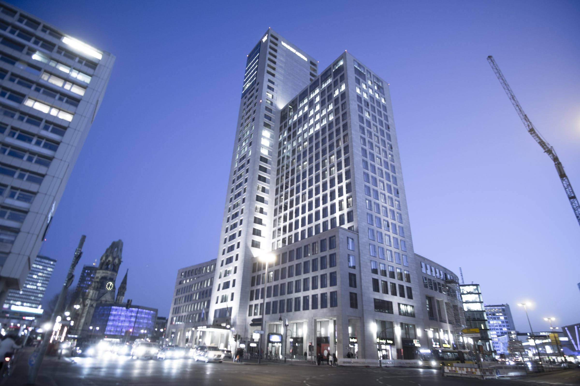 Free stock photo of architecture, berlin, blue hour, building