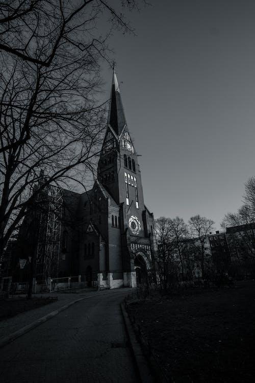 arquitectura, Berlín, blanco y negro