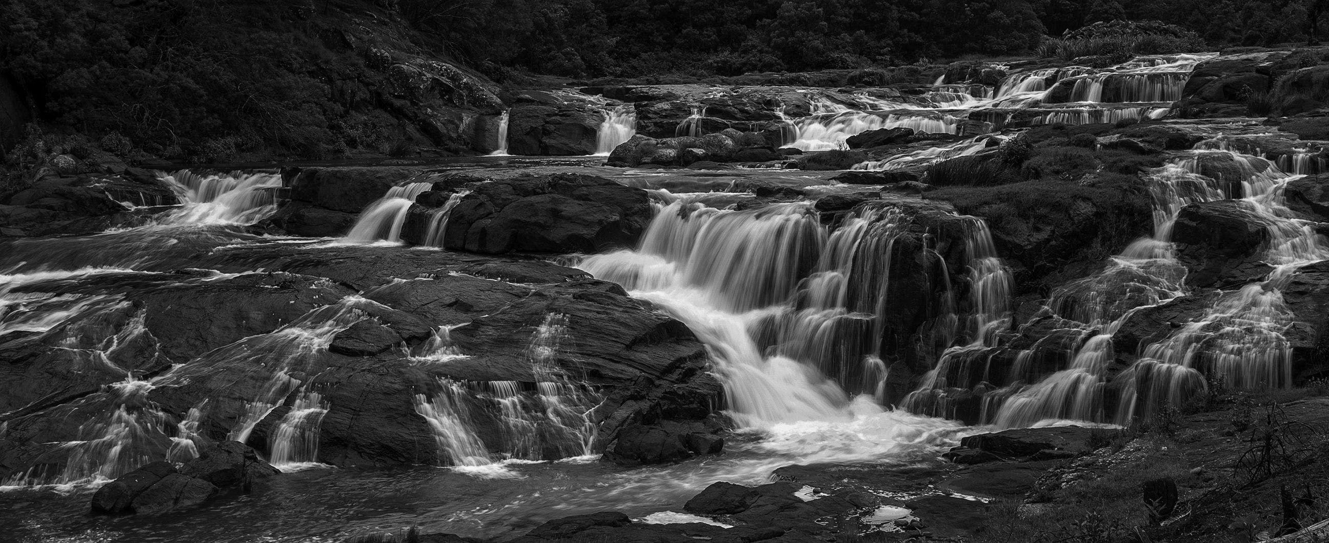 Free stock photo of black and white, long exposure, monochrome photography, nature