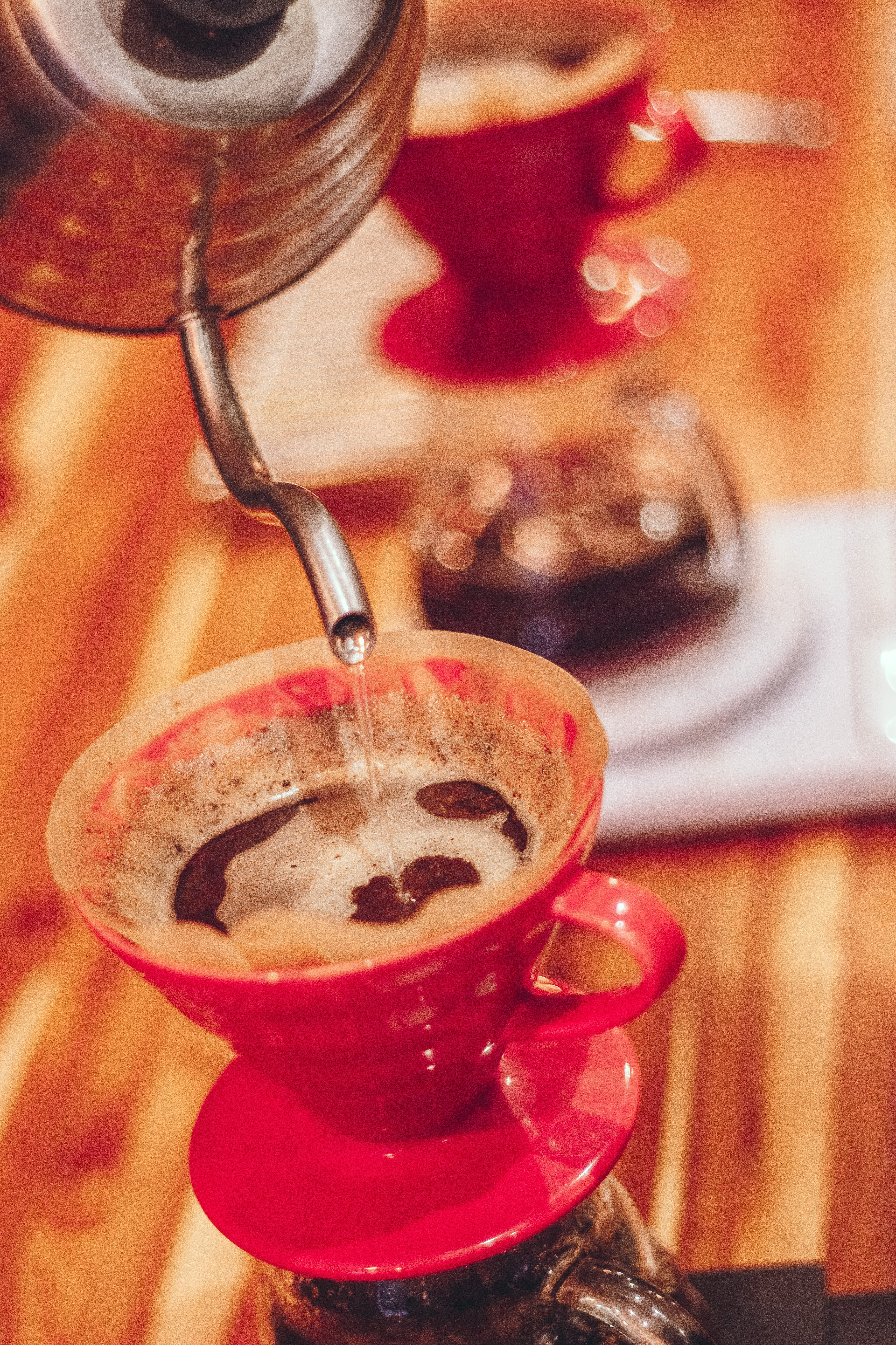 Free stock photo of red, coffee, café, warm