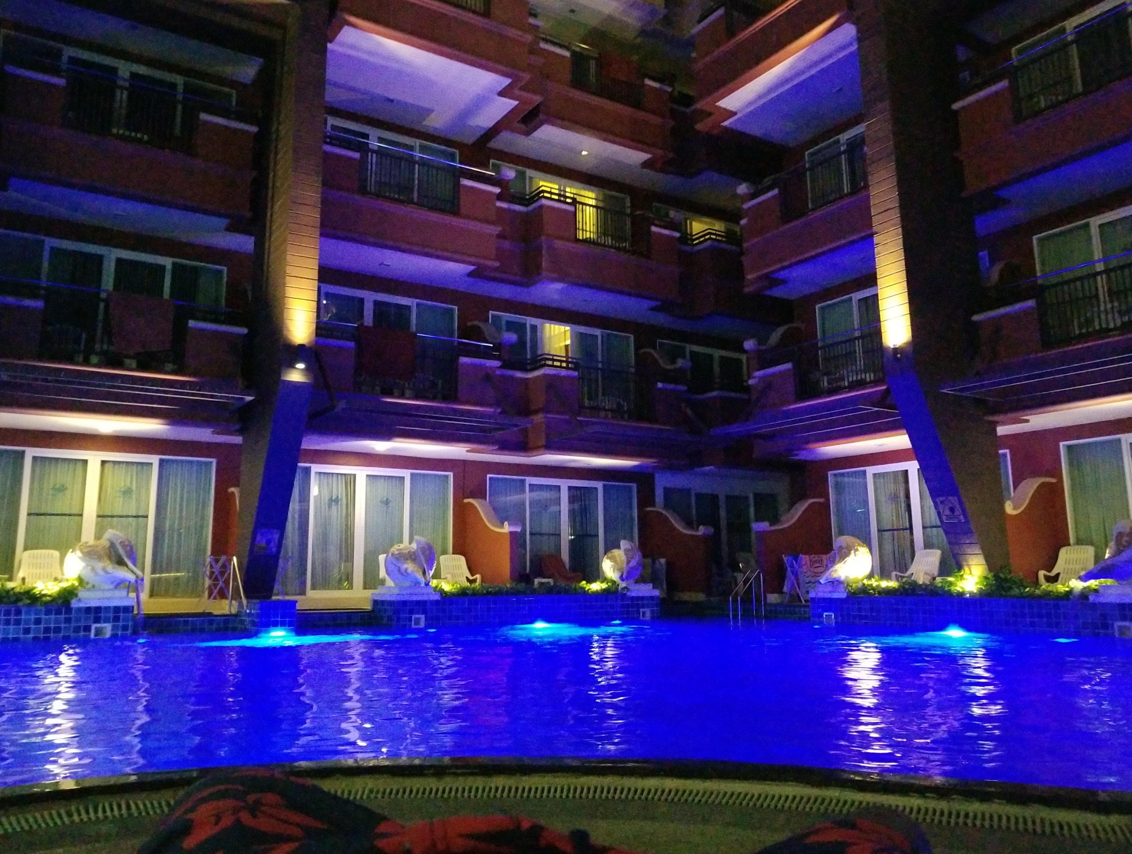 Free stock photo of night, pool, swim
