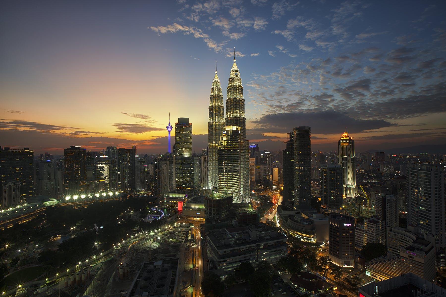 High Rise Buildings Bird's Eye View