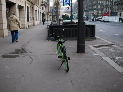 คลังภาพถ่ายฟรี ของ uber, velo, ถนน, ปารีส