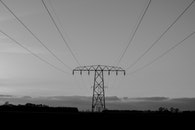 black-and-white, electricity, energy