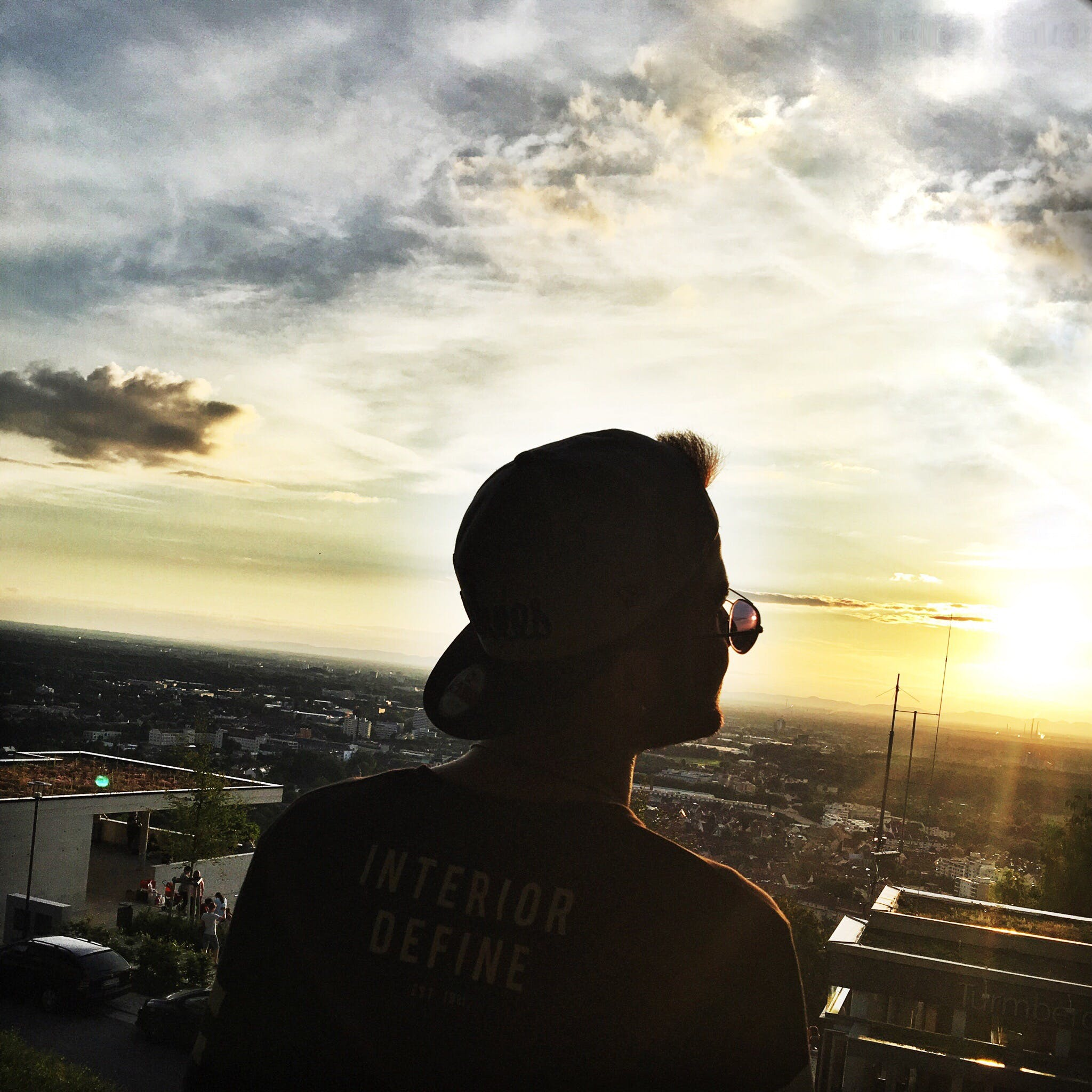 Free stock photo of boy, cap, Dark Sky, man