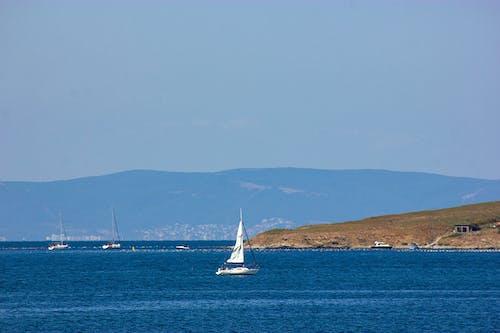 Immagine gratuita di acqua, azzurro, barca