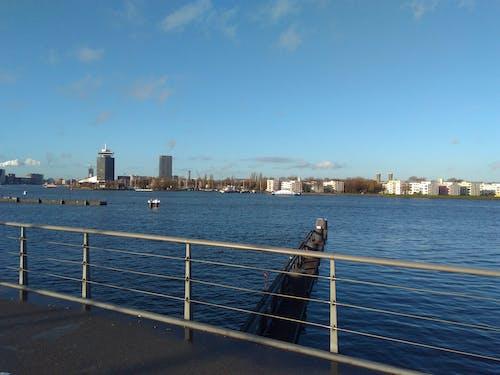 Gratis lagerfoto af Amsterdam, blå himmel