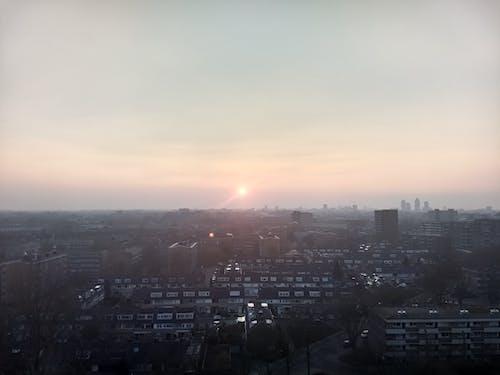 Gratis lagerfoto af skyline