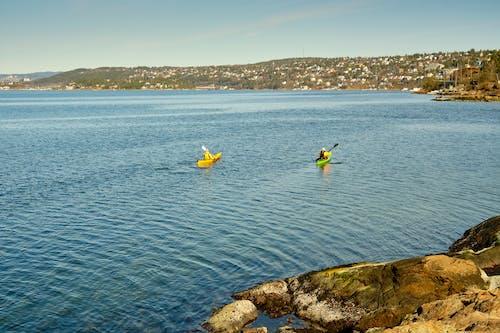 Ảnh lưu trữ miễn phí về biển, chèo thuyền kayak, chèo xuồng