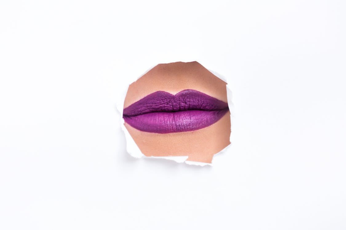 barva, detail, fialová