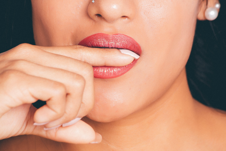 Women's Red Lipstick