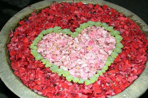 Immagine gratuita di cuore, fiori, petali di rosa