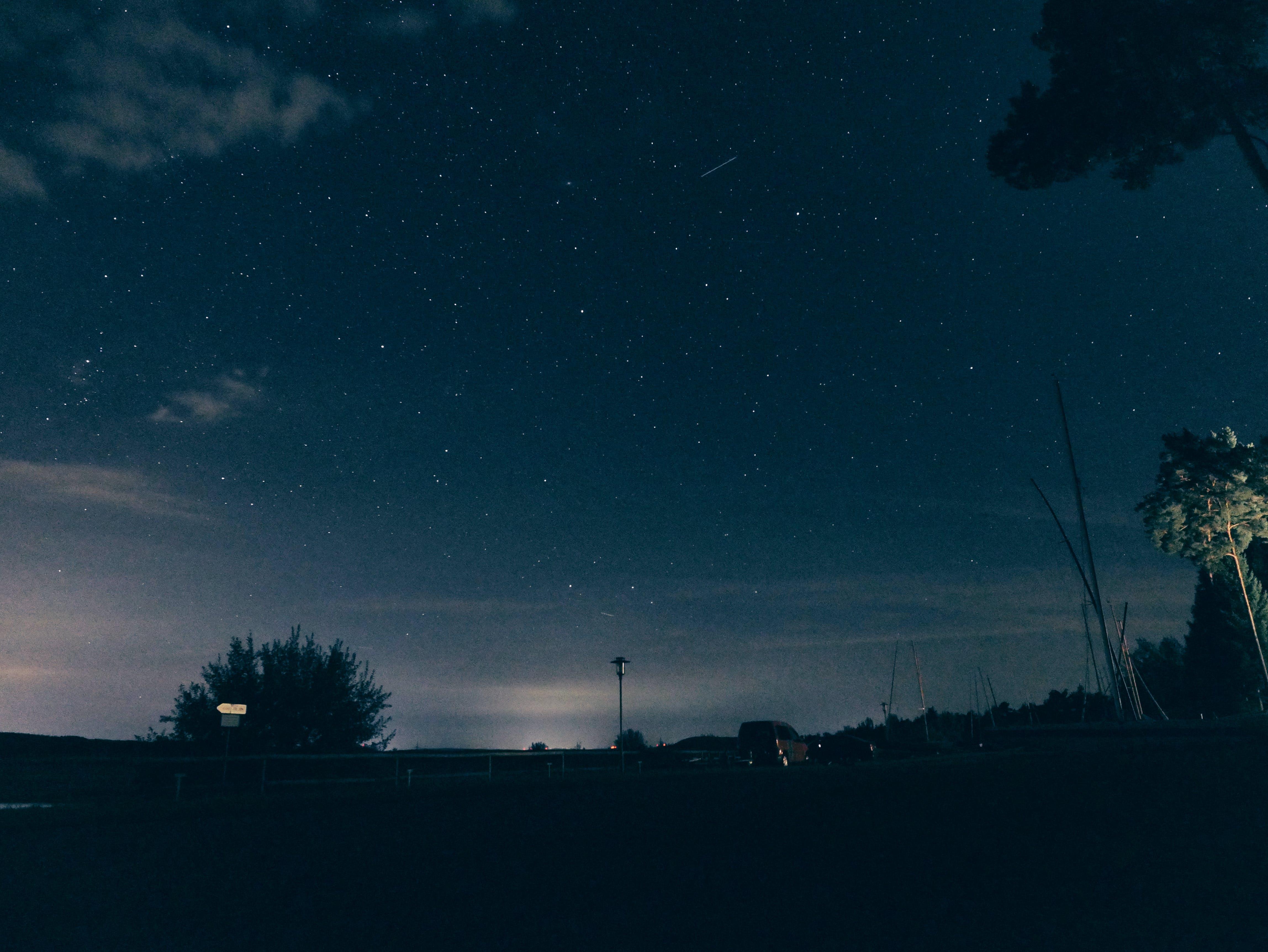 Астрономия, вечер, вечернее небо