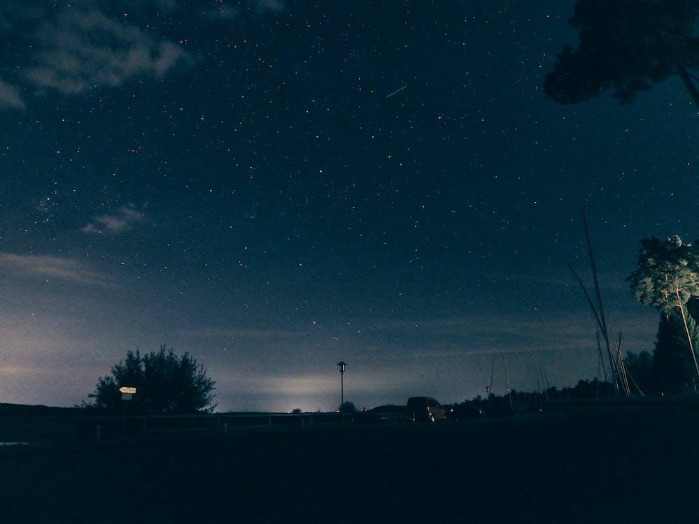 astronomie, avond, avondlucht