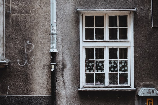 Closed White Window Photo