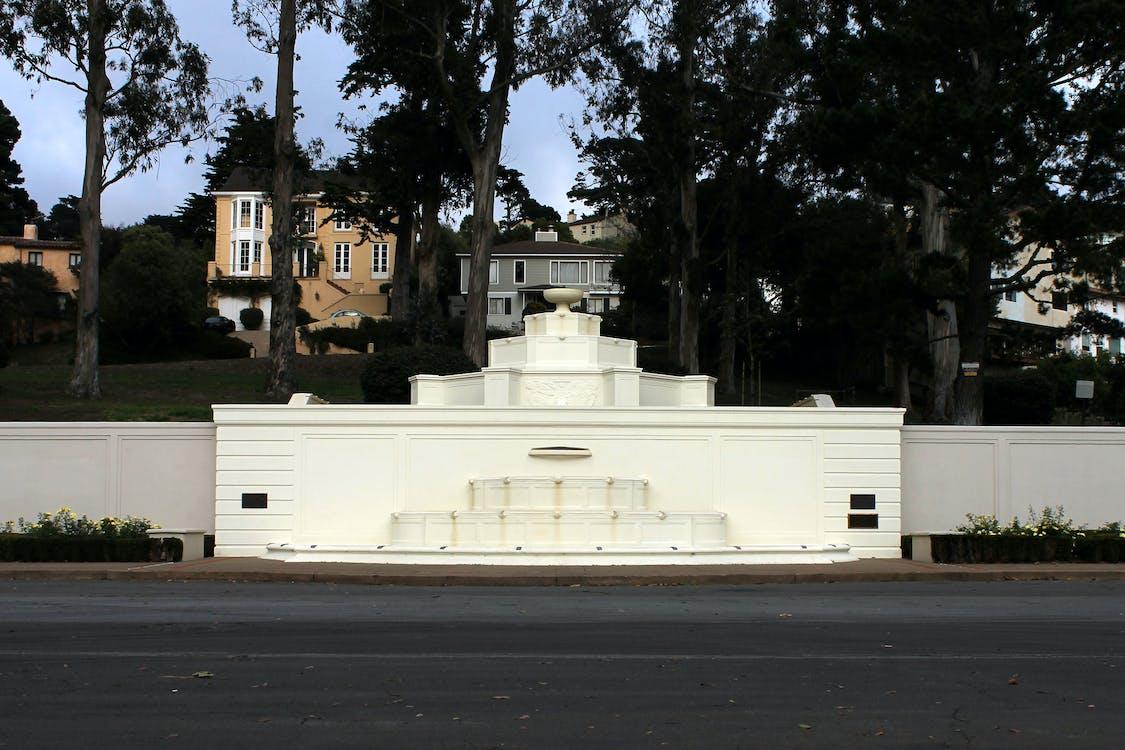 fontána, San Francisco, sf