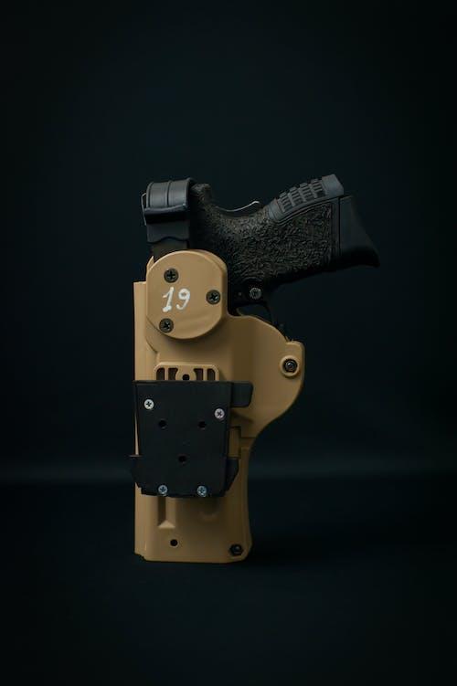 Gratis lagerfoto af lodret skud, lukke op, Pistol