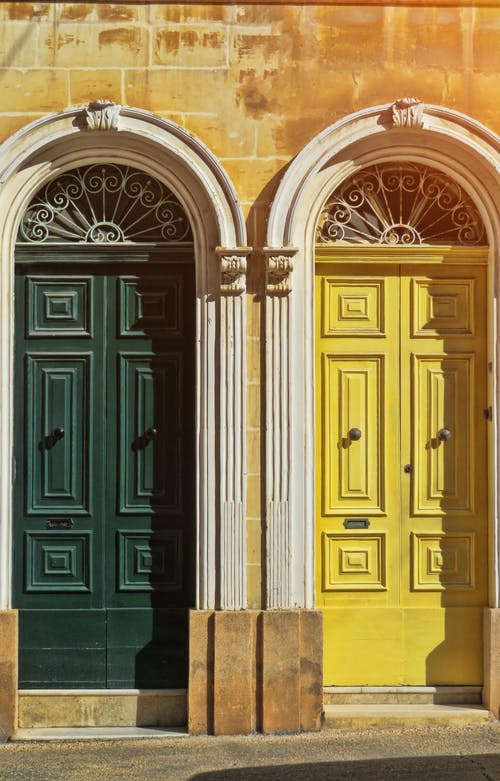 Kostnadsfri bild av dörr, dörrar, malta