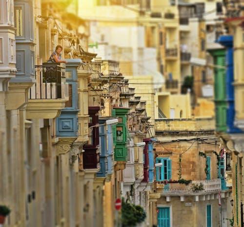 Gratis stockfoto met balkons, eiland middellandse zee