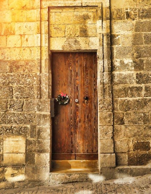 Kostenloses Stock Foto zu antik, architektur, außen, backsteinmauer