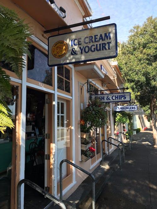 Foto profissional grátis de centro comercial, sorvete