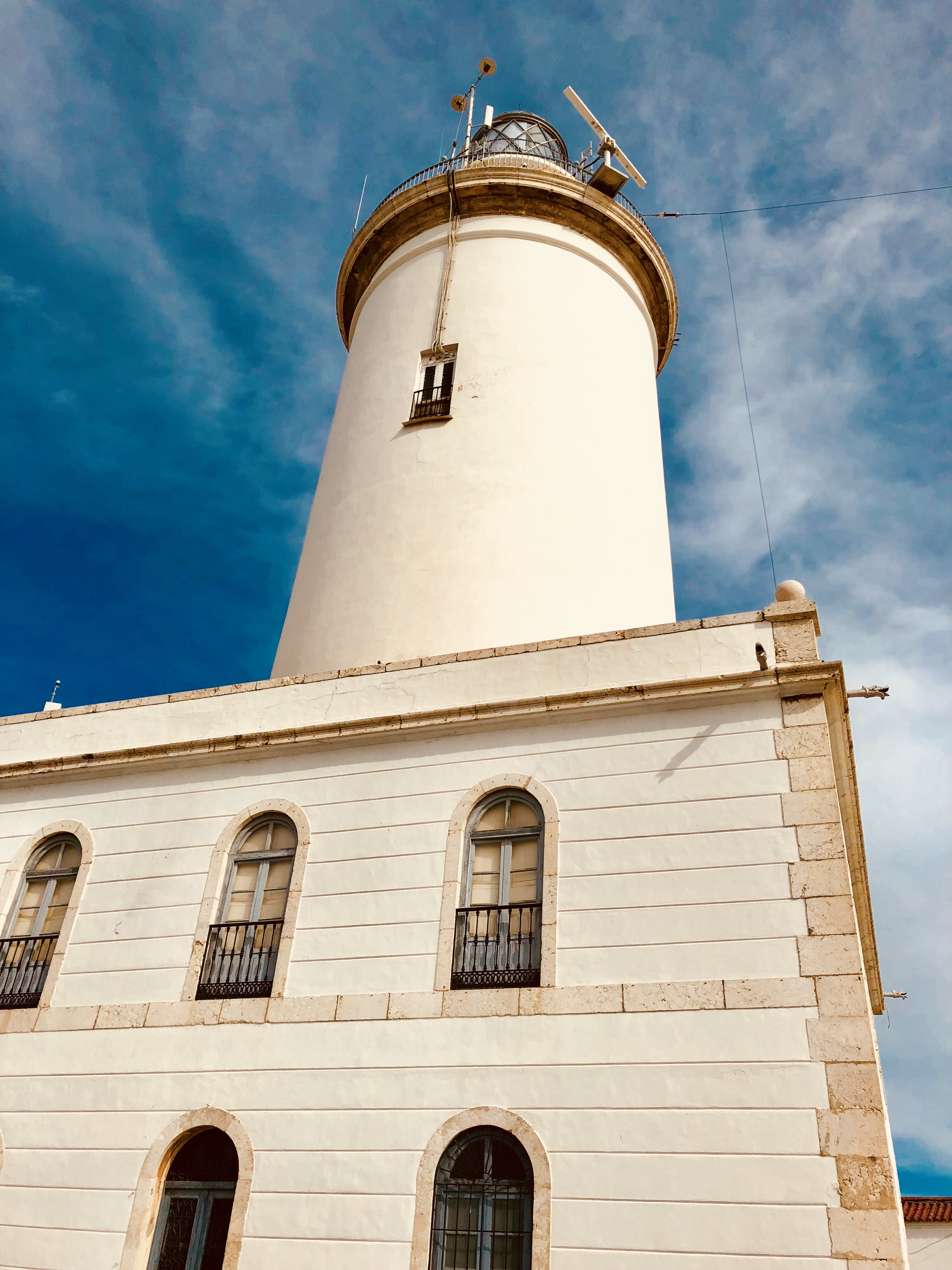 Low Angle Photo of Lighthouse