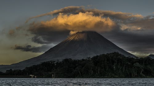 Landscape Photography of Volcano