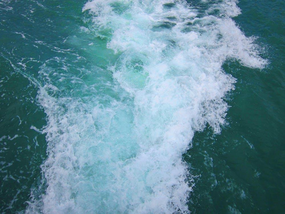 acqua, azzurro, bagnato
