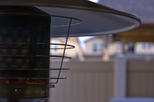 Close-up Photography of Patio Heater