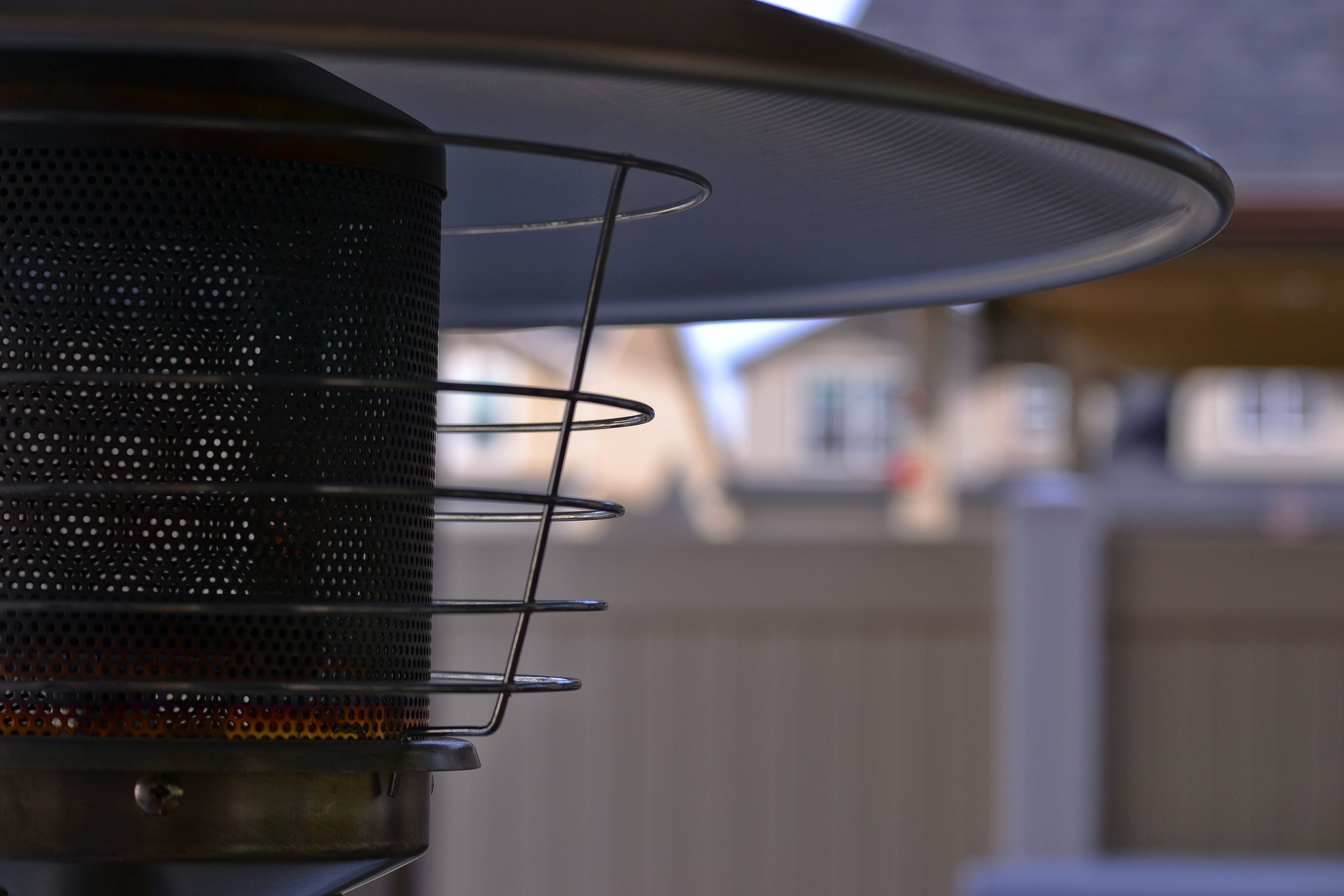 close up shot of an electric insect killer